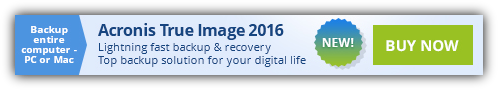 upto 47% off Acronis True Image 2016 coupon