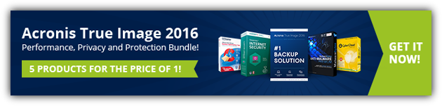 80% Off Acronis True Image 2016 Coupon
