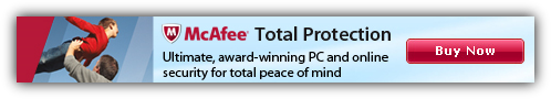 McAfee Total Protection 2012 Coupon $45 Discount Code