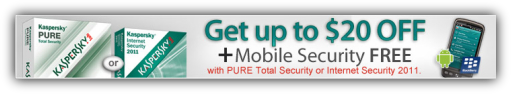 Kaspersky Internet Security Coupon $20 Discount Offer + Free Mobile Security