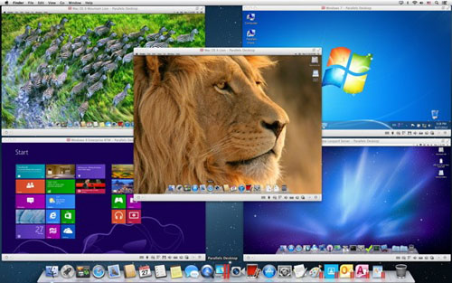 Parallels Desktop 10 for MAC screenshot